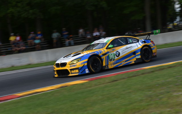 GTD class winning Turner Motorsport BMW M6 GT3 driven by Jesse Krohn and Jens Klingmann.  [John Wiedemann Photo]