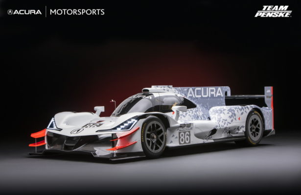 Acura ARX-05 DPi Prototype to be campaigned in 2018 by Team Penske.