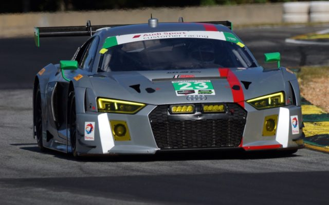 Alex Job Racing Audi R8 LMS.  [Photo by Jack Webster]