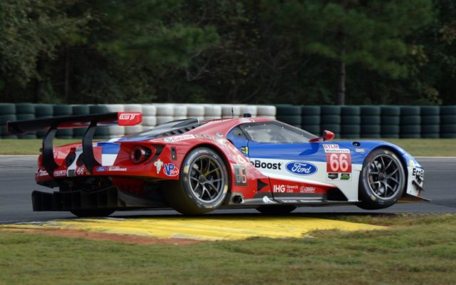 The Ford GT was very competitive in qualifying.  [Photo by Jack Webster]