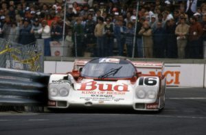 Porsche 962, the car to have in the 1980s. [Photo by Jack Webster]