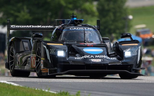 Ricky Taylor in the Cadillac DPi.  [Photo by Jack Webster]