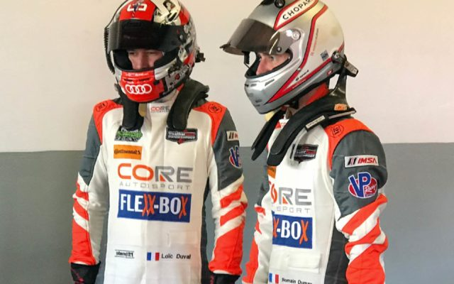 Loic Duval and Romain Dumas.  [photo by Eddie LePine]