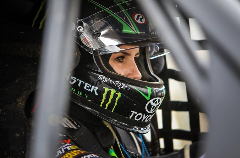 Hailie Deegan is ready to compete in the NASCAR K&N Pro Series West in 2018. [photo courtesy Hailie Deegan]