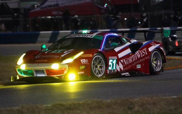 Ferrari took the front row in GTD.  [Photo by Jack Webster]