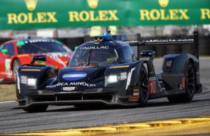Pole winning Wayne Taylor Racing Cadillac. [Photo by Jack Webster]