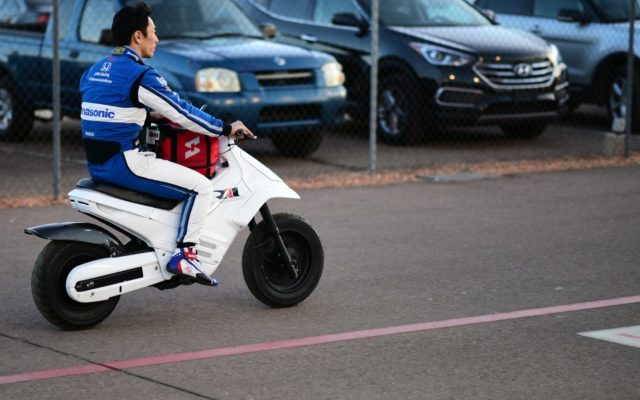 Takuma Sato is quick at ISM Raceway.  [credit Jamie Sheldrick / Spacesuit Media]