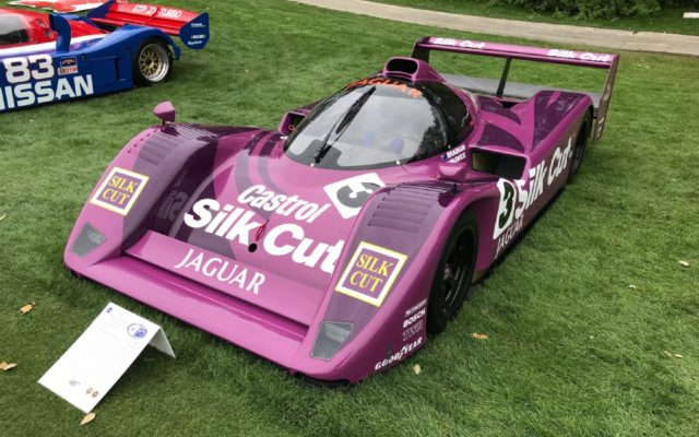 Silk Cut Jaguar XJR-14.  [Photo by Jack Webster]