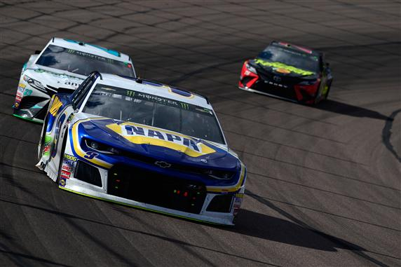 Chase Elliott, driver of the #9 NAPA Auto Parts Chevrolet, one of the Young Guns in the Monster Energy NASCAR Cup Series. [Credit: Robert Laberge/Getty Images]