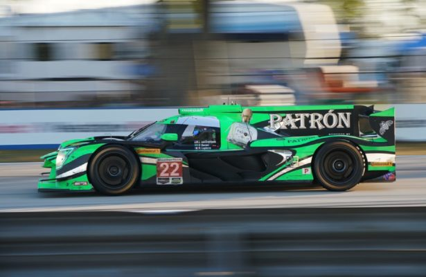 Race winning Nissan Dpi. [Photo by Jack Webster]