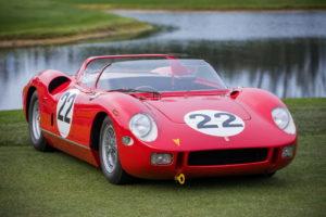 1963 Ferrari 250/275P.  [Photo courtesy Deremer Studios LLC]