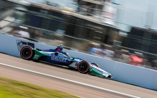 Marco Andretti at the Grand Prix of St Petersburg.  [credit Andy Clary / Spacesuit Media]