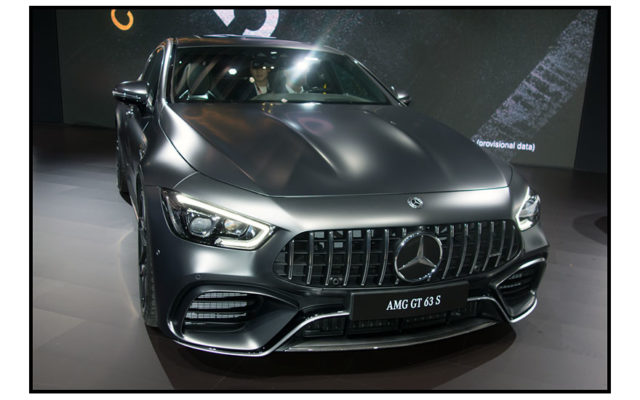 AMG Mercedes GT  [Allan Brewer photo]