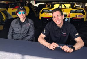 GTLM Victors - Tommy Milner and Oliver Gavin for Corvette. [Photo by Eddie LePine]