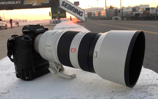 Sony A9 with 100-400mm.  [Photo by Jack Webster]