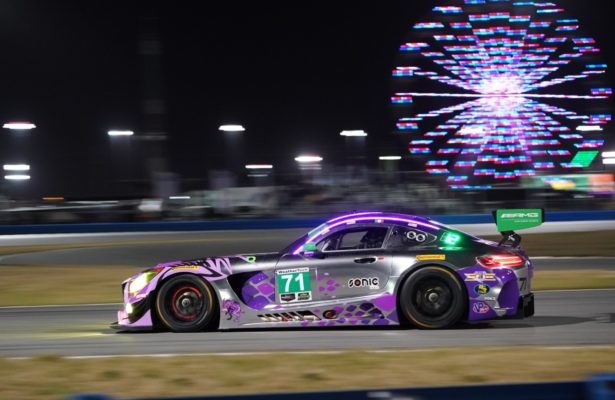 Mercedes at Daytona. [Photo by Jack Webster]