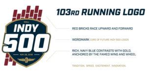 103rd Indy 500 Logo