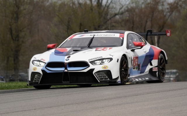 #24 BMW M8 GTE took GTLM pole.  [Photo by Jack Webster]