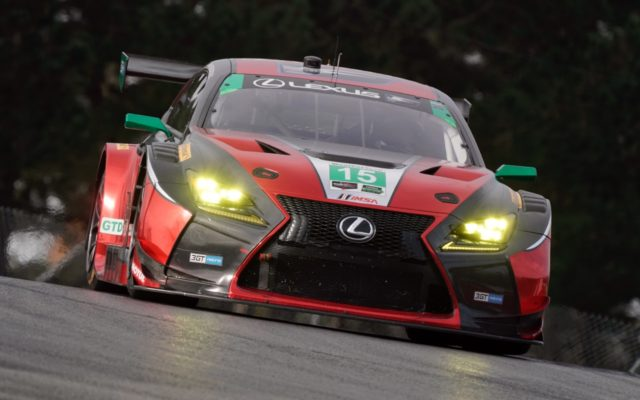 Jack Hacksworth put the Lexus RCF GT3 on pole in GTD.  [Photo by Jack Webster]