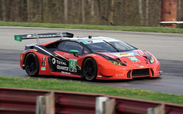 Madison Snow drove the Lamborghini Hurcan GT3 to third on the grid in GTD.  [Photo by Jack Webster]