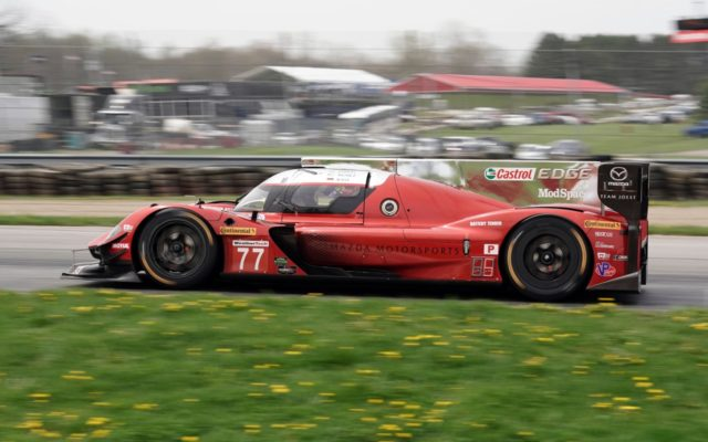 Another strong run by Joest Team Mazda, starting third.  [Photo by Jack Webster]