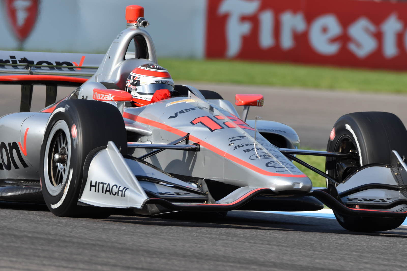 Will Power continues to top the charts on the road course of the Indianapolis Motor Speedway. [John Wiedemann Photo]
