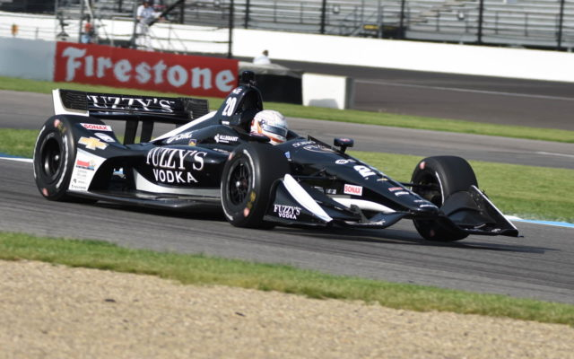 Rookie Jordan King was impressive in the first practice session for the INDYCAR Grand Prix.  [John Wiedemann Photo]