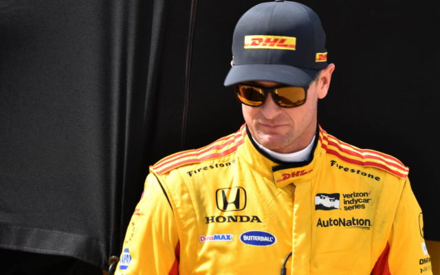 Ryan Hunter-Reay at Indy.  [John Wiedemann Photo]