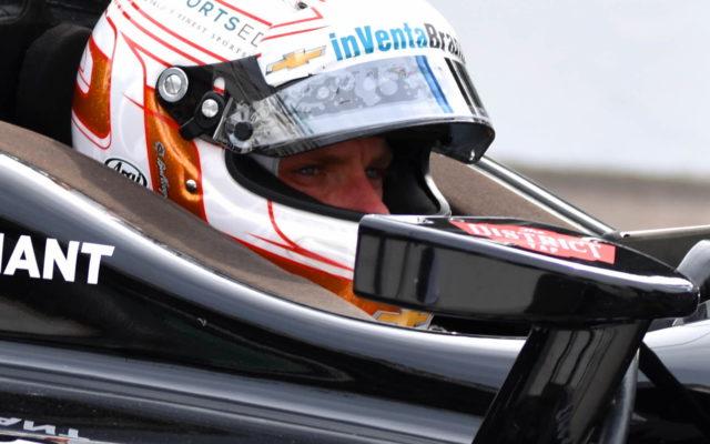 Jordan King waits to hit the track.  [John Wiedemann Photo]