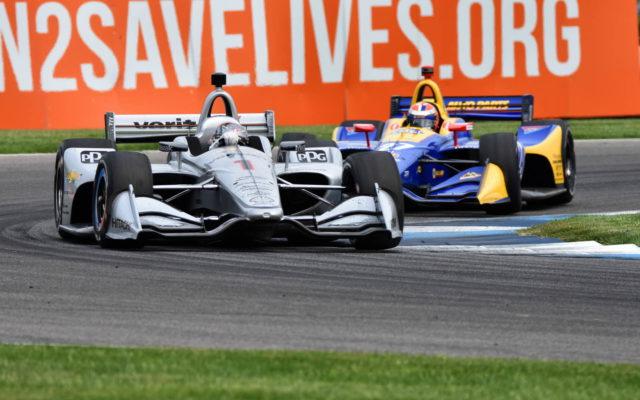 Josef Newgarden – INDYCAR Grand Prix, Indianapolis Motor Speedway.  [John Wiedemann Photo]