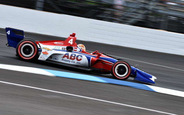 Matheus Leist – INDYCAR Grand Prix, Indianapolis Motor Speedway.  [John Wiedemann Photo]
