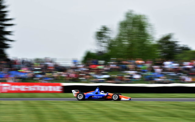 Scott Dixon – INDYCAR Grand Prix, Indianapolis Motor Speedway.  [John Wiedemann Photo]