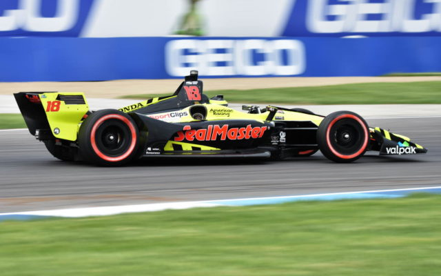 Sebastien Bourdais – INDYCAR Grand Prix, Indianapolis Motor Speedway.  [John Wiedemann Photo]