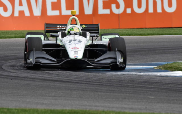 Zachary Claman De Melo – INDYCAR Grand Prix, Indianapolis Motor Speedway.  [John Wiedemann Photo]