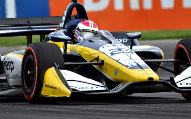 Charlie Kimball – INDYCAR Grand Prix, Indianapolis Motor Speedway.  [John Wiedemann Photo]
