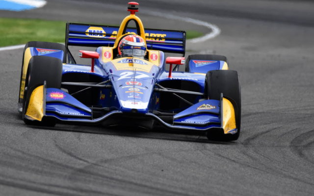 Alexander Rossi – INDYCAR Grand Prix, Indianapolis Motor Speedway.  [John Wiedemann Photo]