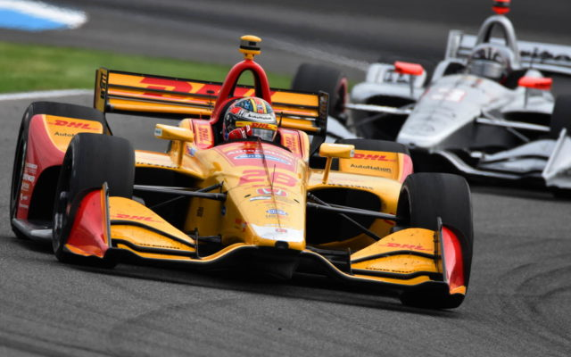 Ryan Hunter-Reay – INDYCAR Grand Prix, Indianapolis Motor Speedway.  [John Wiedemann Photo]