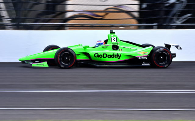 Danica Patrick crashed out of turn two and finished 30th in the Indianapolis 500.  [John Wiedemann Photo]