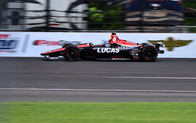 Robert Wickens, top finishing rookie in the Indianapolis 500.  [John Wiedemann Photo]