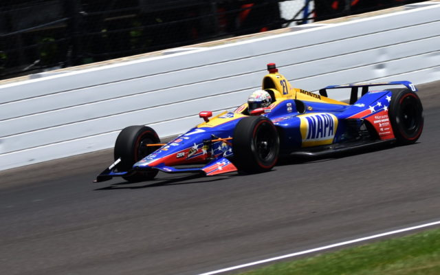 Alexander Rossi finished fourth in the 2018 Indianapolis 500.  [John Wiedemann Photo]