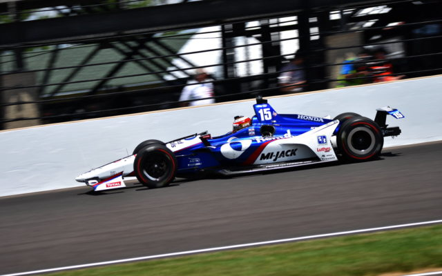 Graham Rahal finished 10th in the 102nd Indianapolis 500.  [John Wiedemann Photo]