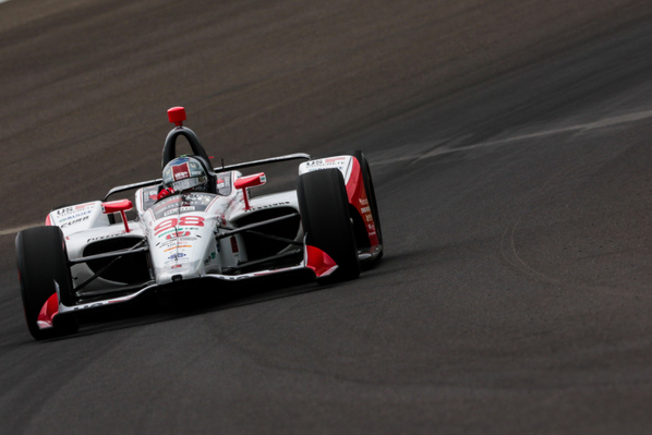 Marco Andretti at the Indianapolis Motor Speedway. © [Andy Clary / Spacesuit Media]