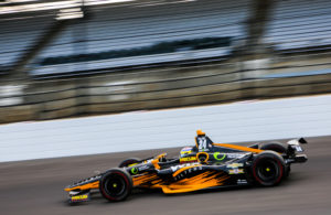 Sage Karam set the quickest lap in Monday's practice for the Indianapolis 500. © [Andy Clary / Spacesuit Media]