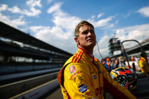 Ryan Hunter-Reay.  © [Andy Clary / Spacesuit Media]