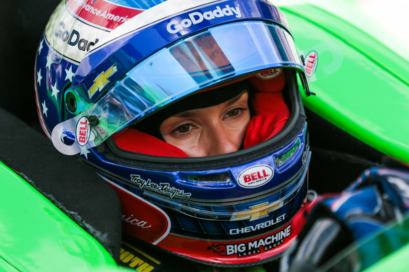 Danica Patrick completed her racing career in the 102nd Indianapolis 500. © [Andy Clary / Spacesuit Media]