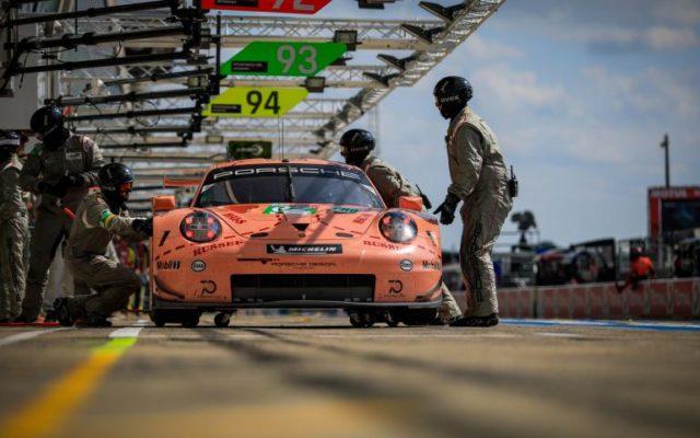 GTE-Pro winning Porsche.  [Photo by ACO]