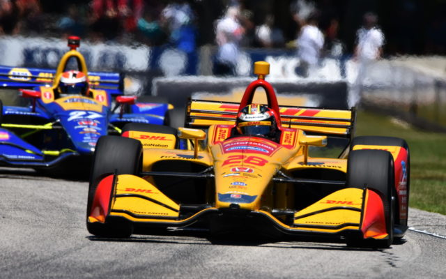 Ryan Hunter-Reay.  [John Wiedemann Photo]