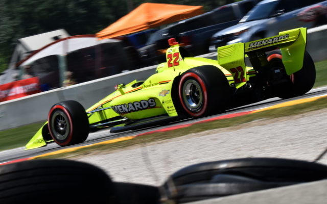 Simon Pagenaud.  [John Wiedemann Photo]