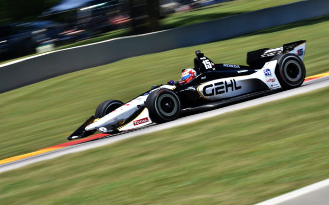 Graham Rahal.  [John Wiedemann Photo]