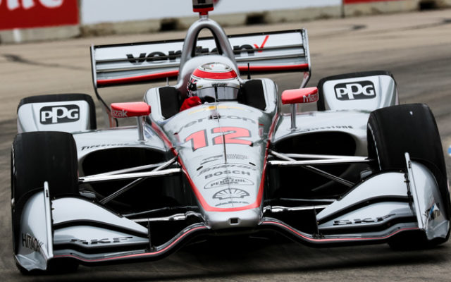 Will Power finished second in the Detroit Grand Prix at Belle Isle.  © [Andy Clary / Spacesuit Media]